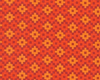 Flame Geometric from the Paintbox Collection by Elizabeth Hartman for Robert Kaufman, Rhoda Ruth, AZH-15456-101