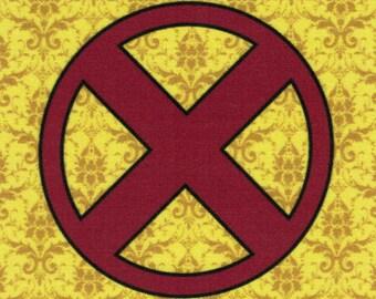 DISCONTINUED X-Men Logo fabric print