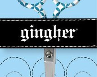 """GINGHER LTD EDITION """"Lauren"""" - 4"""" Embroidery, 5"""" Sewing, or 8"""" Dressmaker Shears"""