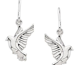 Wings of Remembrance Dove Earrings©