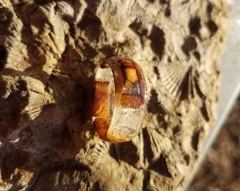 Size 8 1/2 Epoxy Burrell Ring