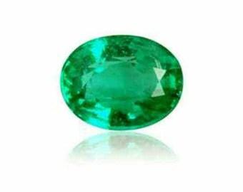 0.39ct Stunning Natural Zambian Emerald VS Oval