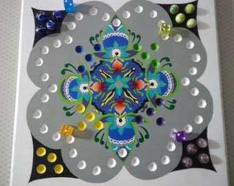 Aggravation Game Board (Kaleidoscope) Travel Size