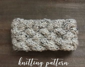 DEVON HEADBAND || Knitting Pattern
