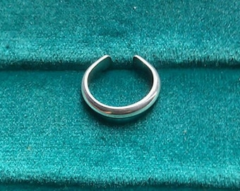 Toe Ring Sterling Silver Adjustable