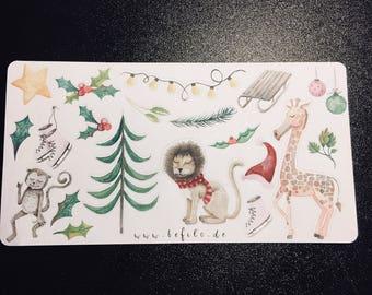 Crazy Christmas Sticker