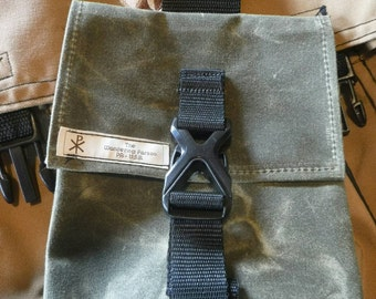 Waxed Canvas Belt Pouch / Possibles Pouch