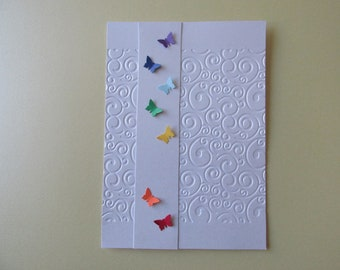 Greetings Card *Made in UK* Blank Occasions Birthday Thank You Best Wishes Anniversary congratulations *Hand Crafted*