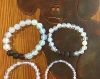 Opal Essential Oil Diffuser Bracelet