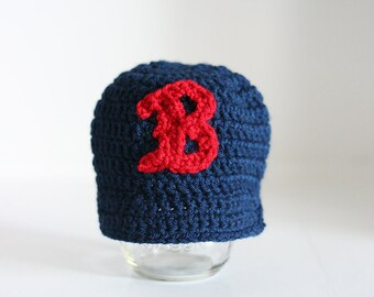 Boston Red Sox hat for baby, Boston Red Sox baby, baby boy hat, baby girl hat, baseball hat, baseball cap, 12 month to 4t sizes