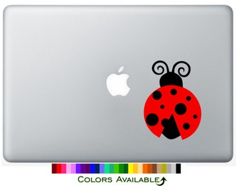 Ladybug Laptop Decal