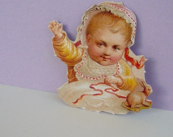 Anna Griffin Die Cut Victorian Embellishment Baby Craft Supplies