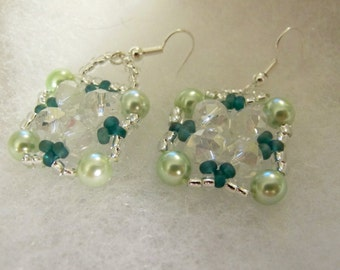 Pretty Pearls, Swarofski Crystals and Glass Crystals
