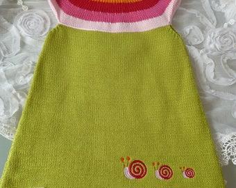 """Summer dress girl dress """"Snail"""""""