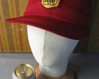 "True Red ""Renk Seed"" farmer's Cap"