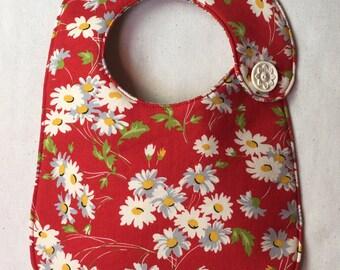 Spring Daisies Infant Bib