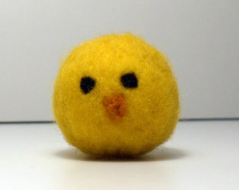 Needle felted chick kit.  Beginner level.