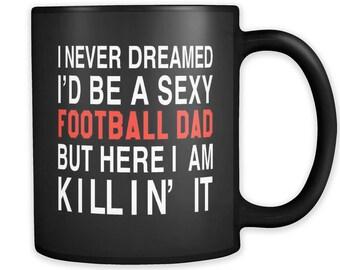Football Dad Mug, Football Dad Gift, Gift for Football Dad, Football Fan Mug, Football Fan Gift, Football Coach Mug, Football Coach #a050