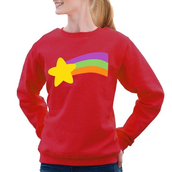 mabel pines rainbow star sweatshirt halloween costume cosplay