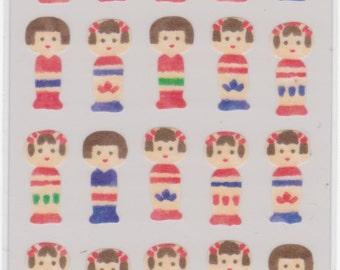 Kokeshi Stickers - Masking Seal - Mind Wave - Reference H2527H6023