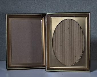 5x7 Metal Box Frame Vintage Photo Frame