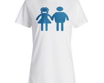 Mom And Dad Holding Hands Ladies T-shirt n390f