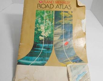 Rand McNally Road Atlas,USA Canada Mexico Map,1985 Road Map, Rand McNally USA Road Map,1985 USA Canada Road Map,1985 Rand McNally Road Map