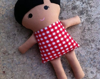 Sally Fabric Doll DIGITAL PDF Sewing Pattern - Instant Download