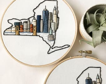 nyc embroidery art