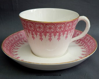 A Royal Worcester Cup & Saucer Duo