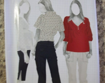 Simplicity 4110 Misses (Size D5 4,6,8,10) and (Size P5 12,14,16,18,20)  pants in 2 lengths