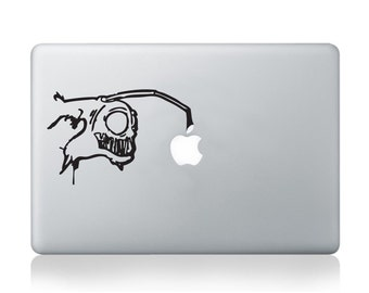 Graffiti Lightfish Vinyl Decal for Macbook (13/15), Laptop or Guitar