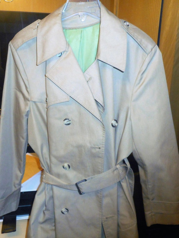 Men's VINTAGE OVERCOAT 40Reg 70's vERY nICE gfPUpE