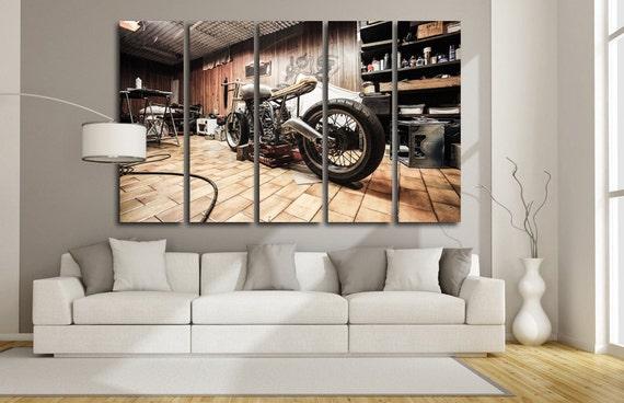 Superb Chopper Wall Art Motorbike Wall Art Motorcycle Wall Art