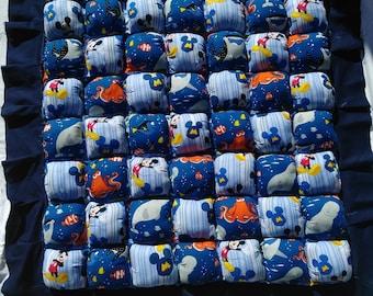 Disney puff quilt