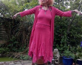 Poppy Red Woodland Dress