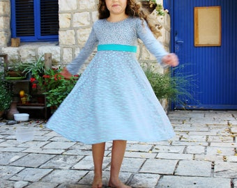Small drops of rain is a girls dress for girls yes!!! is a twirl dress