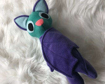 Spring Bat Plush, Bat Toy, Stuffed Bat