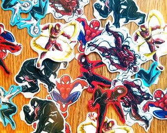 Spiderman Universe Stickers