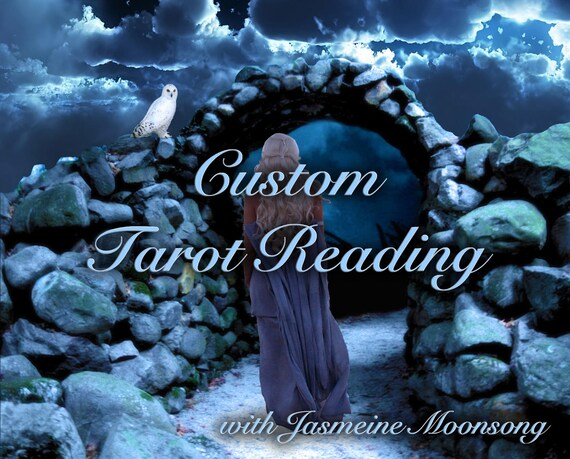 Custom Tarot Reading - Ask Your Question - Select Number of Cards