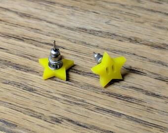Starman Earrings (Super Mario)