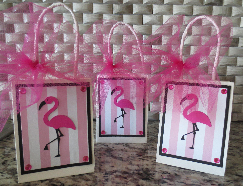 Pink Flamingo Beach Bachelorette Birthday Baby Shower