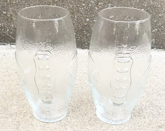 Vintage Football Glass - 2 in stock