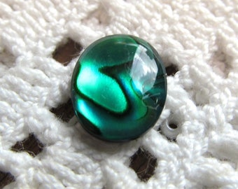 Paua Shell 10x8mm Cabochons in Three Colors