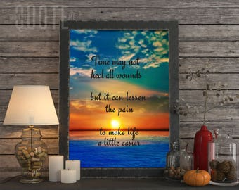 Time Heals All Wounds Printable Quotes