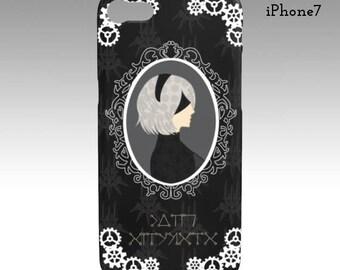 Nier Automata 2B iPhone/Samsung Galaxy Phone Case