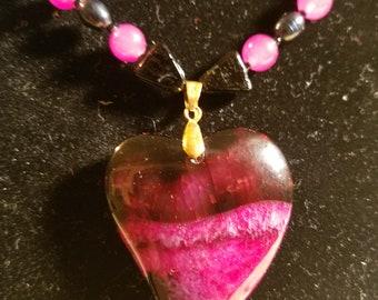 Dark heart and black pearls