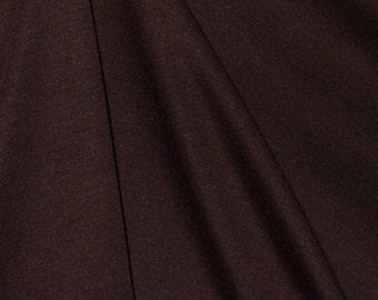 "Brown Jersey Knit Fabric - 54"" Wide - 2 Yard (KF07)"