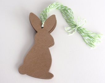 Easter Gift Tags, Bunny Gift Tags, Spring Gift Tags