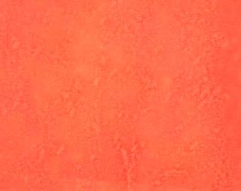 Hand Dyed Paper, ephemera, collage, journal, orange, melon, gold, tangerine.